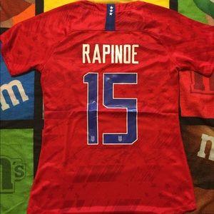 Rapinoe USA away Womens Jersey sizes s-xl